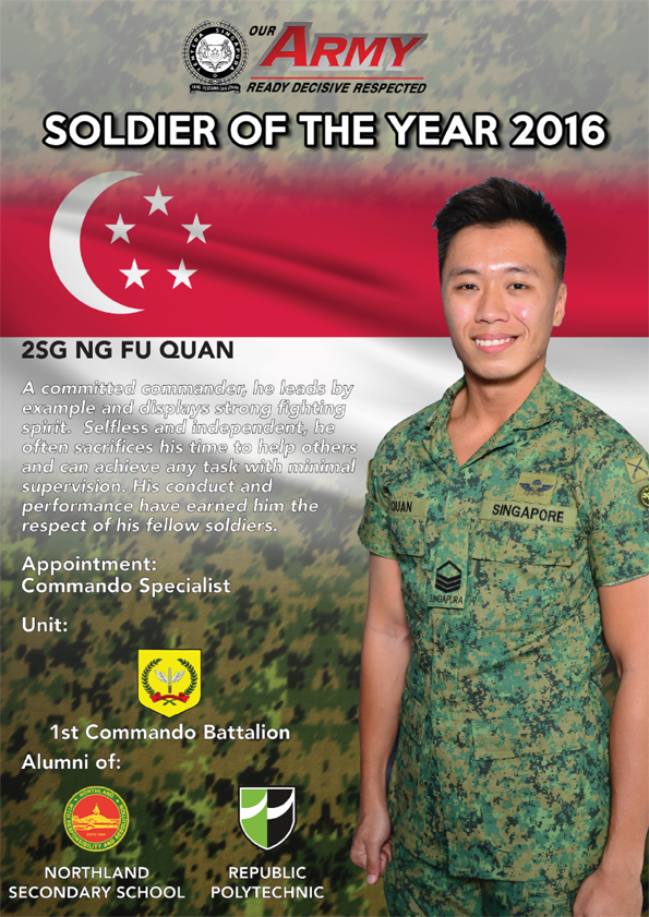 Army NSF of the Year Award 2016